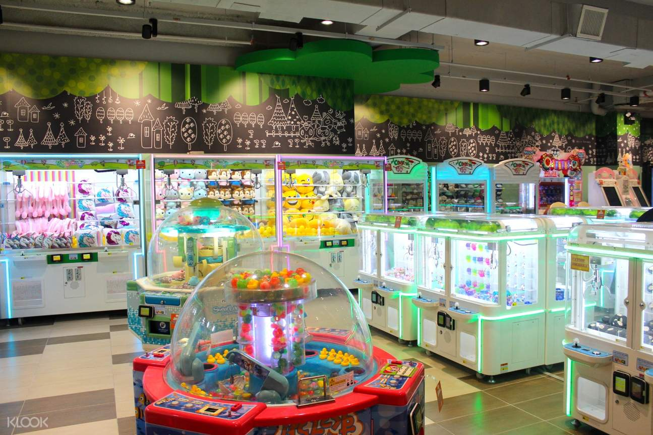 Fun and exciting game facilities which can bring joy and interaction